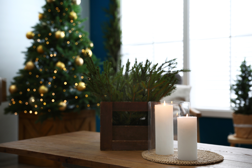 Holiday decor, home interior